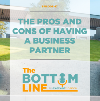 TBL Episode 47: The pros and cons of having a business partner