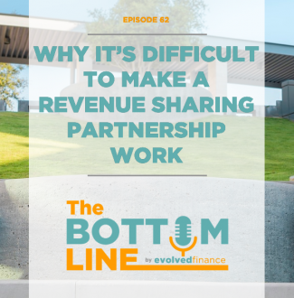 TBL Episode: 62 Why it's difficult to make a revenue sharing partnership work
